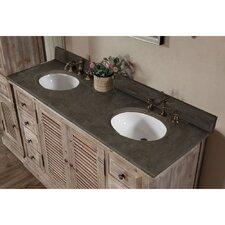 "WK Series 61"" Double Bathroom Vanity Set"