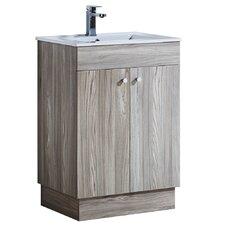 """23.9"""" Single Sink Bathroom Vanity Set"""