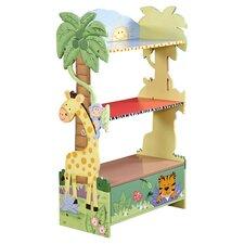 Sunny Safari Children's 118.75cm Bookcase