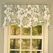 "Jacobean Abstract Lined Beacon 53"" Valance"