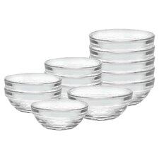 Lys 12 Piece Stackable Bowl Set