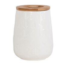 Confetti Embossed Storage Jar