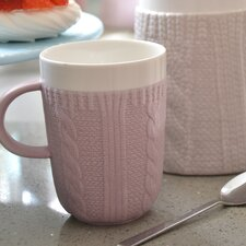 Chunky Knit Mug (Set of 2)