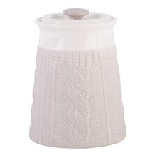 Chunky Knit Storage Jar (Set of 3)