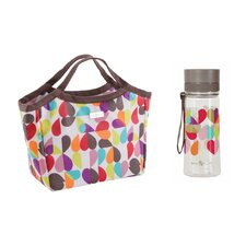 Brokenhearted Insulated Picnic Tote Bag and Hydration Bottle Set