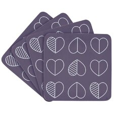 Outline Coasters (Set of 4)