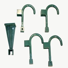 Wall Hanger and 4 Universal Wall Hook