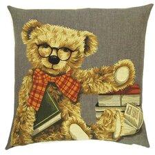 Kissenbezug Teddybär als Leser