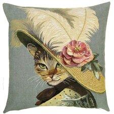 Kissenbezug Katze Belle Epoque mit Rose