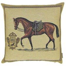 Kissenbezug Club Pferd mit Sattel