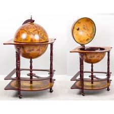 2 Piece Globe Bar Set