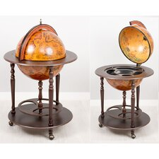 2 Piece Globe Bar Set