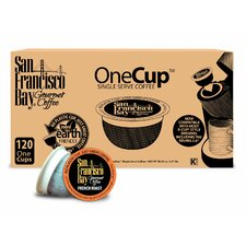 One Cup French Roast Single Serve Coffee (Pack of 120)