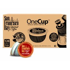 One Cup Fog Chaser Single Serve Coffee (Pack of 120)