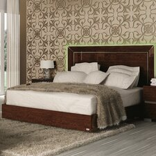 Live Upholstered Panel Bed