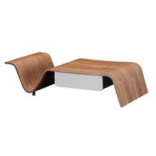 Arnau Coffee Table with Magazine Rack