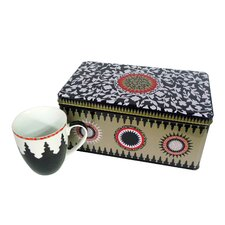 Mosaic 3-Piece Box and Cup Set