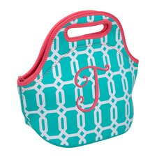 Fun and Sun Insulated Monogram T Lunch Bag
