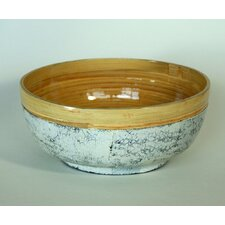 Small Spun Bowl with Inlaid Eggshell