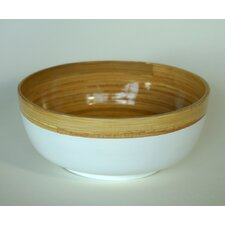 Small Bamboo Bowl with Lacquer