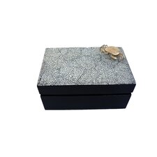 Cube and Rectangular Box Set with Crab
