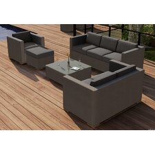 Element 5 Piece Deep Seating Group with Cushion