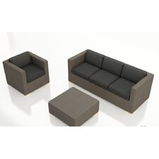 Element 3 Piece Deep Seating Group with Cushion