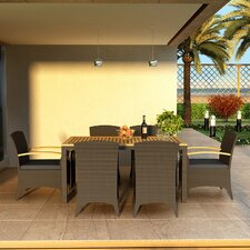 Arbor 7 Piece Dining Set with Cushions