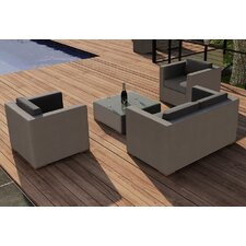 Element 4 Piece Deep Seating Group with Cushion