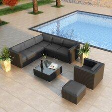 Urbana 8 Piece Deep Seating Group with Cushion