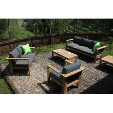 Ando 4 Piece Deep Seating Group with Cushions