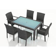 District 7 Piece Dining Set with Cushions