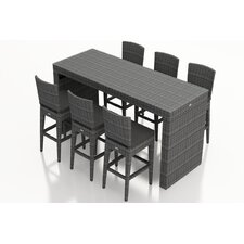 District 7 Piece Bar Set with Cushions