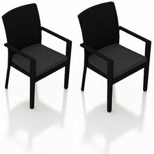 Urbana Dining Arm Chair with Cushion (Set of 2)