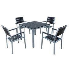 Brasserie 5 Piece Dining Set