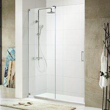 """Oasis Lux 72"""" x 56 - 60"""" Frameless Sliding Shower Door"""