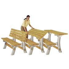 FlipTop Garden Bench Table Kit