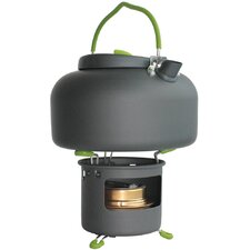 Aurora 1.4L Kettle in Graphite with Spirit Burner