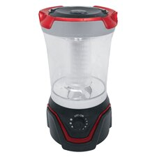 LED Lantern in Black/Red
