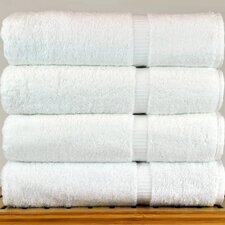 Luxury Hotel and Spa Towel 100% Turkish Cotton Bath Towel (Set of 4)