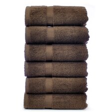 Luxury Hotel and Spa Towel 100% Genuine Turkish Cotton Hand Towel (Set of 6)