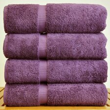 Luxury Hotel and Spa Towel 100% Turkish Cotton Bath Towel (Set of 4)