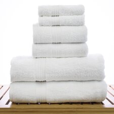 Eco Cotton 6 Piece Towel Set