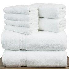 Eco Cotton 8 Piece Towel Set