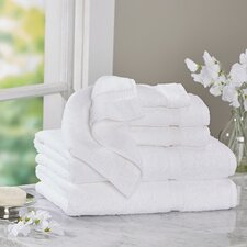 Luxury 6 Piece Turkish Cotton Towel Set