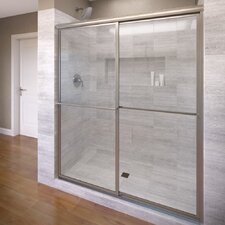 "Deluxe 71.5"" x 47"" Framed Bypass Sliding Shower Door"
