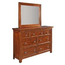 Rifkin Heights 7 Drawer Dresser with Mirror