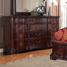 Lavon Lake 12 Drawer Dresser