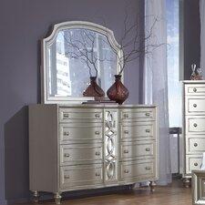 Regency Park 8 Drawer Dresser with Mirror