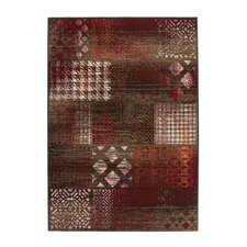 Teppich Funky in Rot